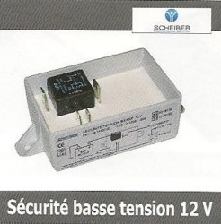 Sécurité basse tension 12 V