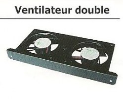 Ventilateur Double