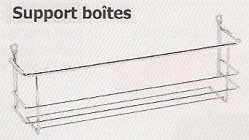 Support boîtes