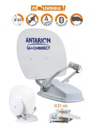 G6+ 60cm ANTENNE COMPACTE DUO CONNECTÉE (Antenne Automatique)