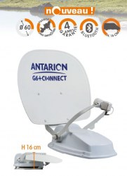 G6+ 60 cm ANTENNE COMPACTE TWIN CONNECTÉE