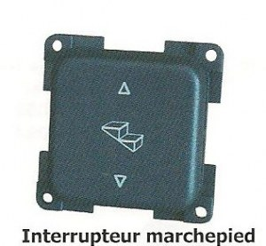 Interrupteur marchepied