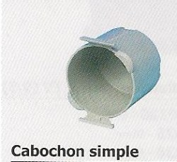 Cabochon simple