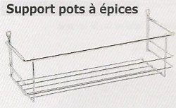 Support pots à épices