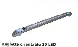 Réglette orientable 20 LED