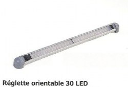 Réglette orientable 30 LED