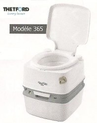 WC portables Porta-Potti Qube 365