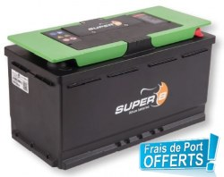 Batterie SUPER B EPSILON 90A,